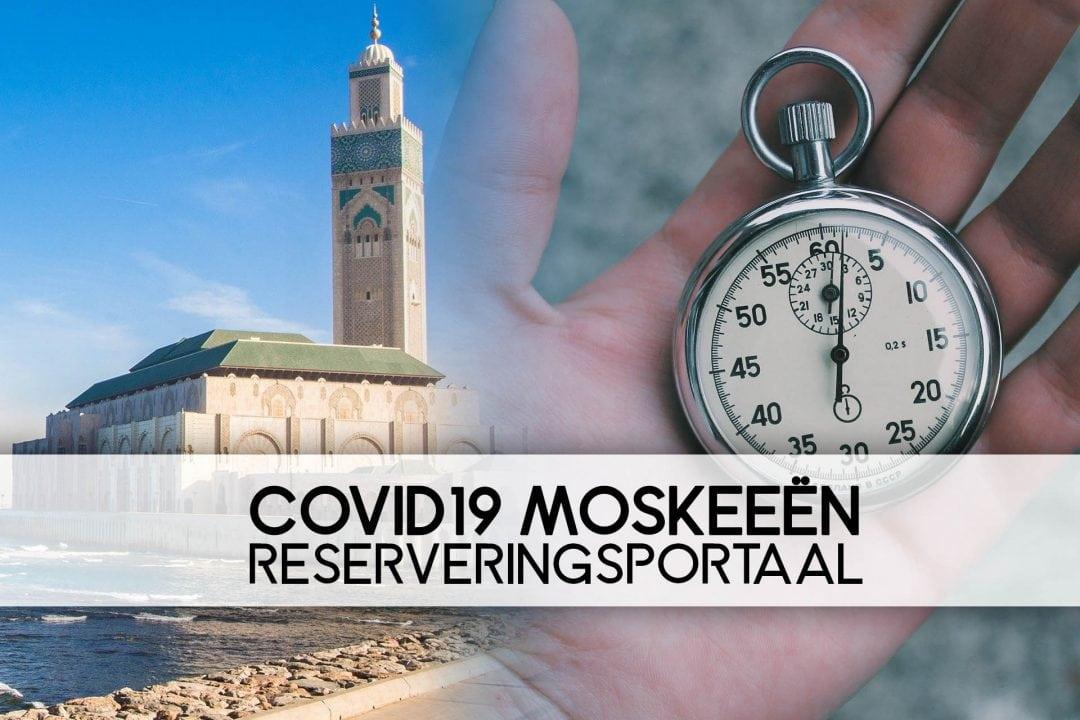 COVID 19 Moskee Portaal Dashboard